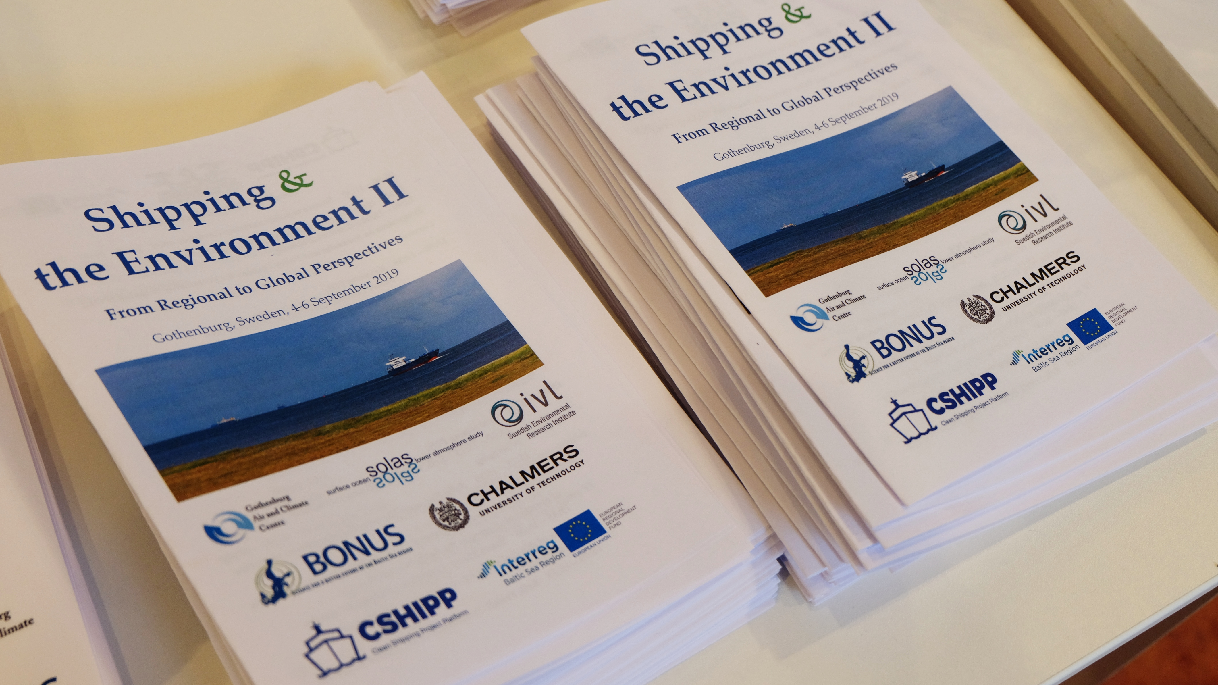 The environmental impacts of shipping discussed at an international conference in Gothenburg
